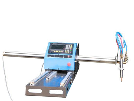 máquina de corte portátil da tubulação do plasma para o tupe e as tubulações do metal
