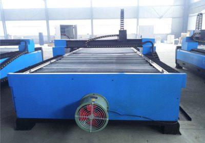 Máquina de corte do plasma da tabela do CNC do aço da folha do cortador do plasma