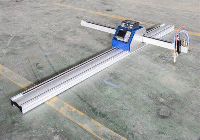 Máquina de corte da tabela do plasma do CNC para a placa inoxidável / de aço / cooper