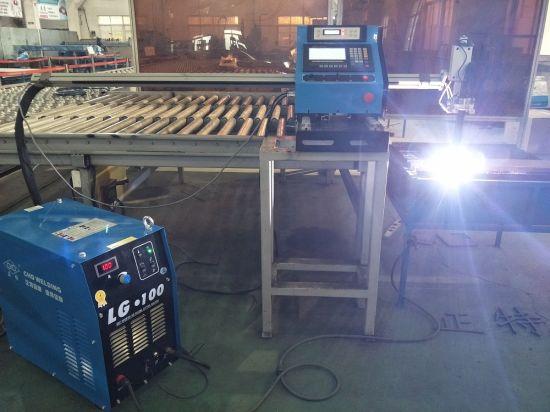 China Jiaxin 1300 * 2500mm woking área máquina de corte plasma para cortador de metal Plasma especial stat sistema de controle do painel LCD